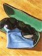 Round Arched Sunglasses in Dark Tortoise