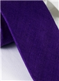 Shantung Silk Solid Tie in Violet