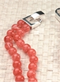 Double-Strand Cherry Quartz Necklace