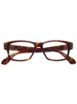 Bold Rectangular Frame in Dark Tortoise