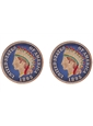 American Indian Head Penny-Blue