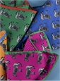 Silk Zebra & Polka Dot Reversible Pocket Squares