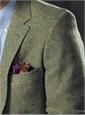 Heathery Green Tweed Sport Coat