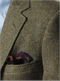 Heathery Green Tweed Sport Coat