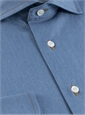 Denim Modified Cutaway Dress Shirt