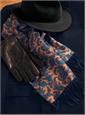 Navy Cashmere Overcoat