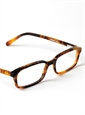 Silver Line Slim Rectangular Frame in Mahogany