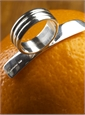 Sterling Silver Orange Peeler