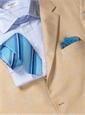 Silk Woven Multi-Stripe Tie in Sunshine