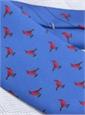 Silk Print Cardinal Motif Tie in Stewart