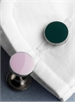 Double-Ended Cufflinks in Lilac and Green
