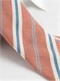 Mogador Stripe Tie in Copper