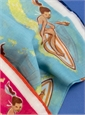 Cotton Surfer Pocket Square