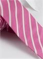 Mogador Bar Stripe Tie in Rose