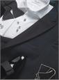 Black Seersucker Tuxedo