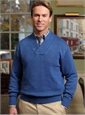 Linen Shawl Collar Sweater