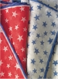 Cotton and Cashmere Star Motif Pocket Squares