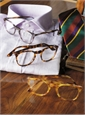 Francois Pinton Square Frame in Purple Tortoise