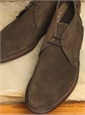 The Alden Chukka Boots in Dark Brown Suede