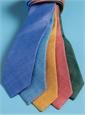 Shantung Silk Solid Tie in Saffron