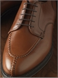 The Alden Split Toe Blucher in Burnished Tan