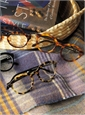 Francois Pinton Bold Semi-Round Frame in Light Tortoise with Black Temples