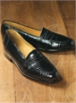 The Lizard Loafer in Black