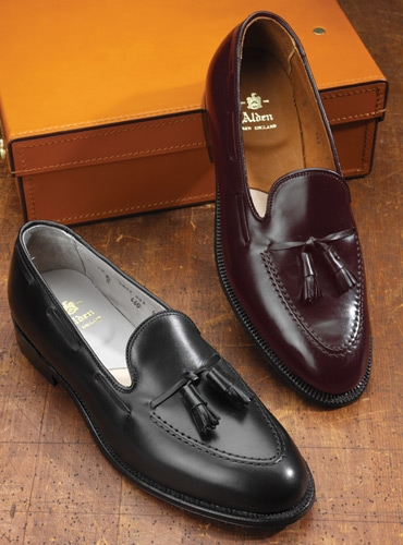e95fd9885fa36 The Alden Tassel Moccasin in Black. mouse over the thumbnails for alternate  views. Preload Preload Preload Preload
