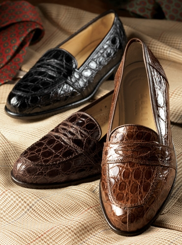 80eee61ee04 The Crocodile Loafer in Dark Brown. mouse over the thumbnails for alternate  views. Preload Preload Preload Preload