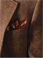 Russet and Wheat Herringbone Harris Tweed Sport Coat