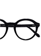 Bold Semi-Round Frame in Black