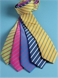 Mogador Bar Stripe Tie in Lemon