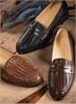 The Woven Loafer in Cognac