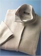 Ladies Cashmere Herringbone Jacket in Linen