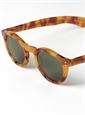 Bold Round Sunglasses in Honey Tortoise