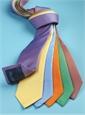 Silk Basketweave Tie in Sky