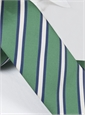 Mogador Striped Tie in Grass