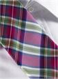 Silk Woven Plaid Tie in Medici