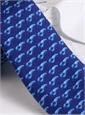 Silk Print Lobster Tie in Marine