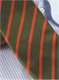 Mogador Bar Stripe Tie in Field