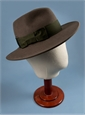 Ladies Felt Fedora Hat in Mocha