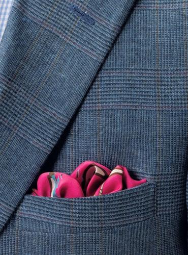 Storm Blue Glen Plaid Suit