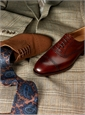 The Berkeley Oxford in Chestnut