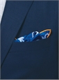 Silk Anchor Motif Pocket Squares