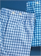 Boxers Blue Gingham
