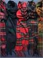 Black Stewart Cashmere Scarf
