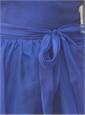 Purple Silk Organza Dress