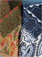 Silk Printed Paisley Pocket Squares
