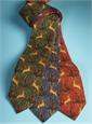 Woodland Printed Tie in Royal