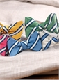 Mogador Striped Bow Tie in Grass
